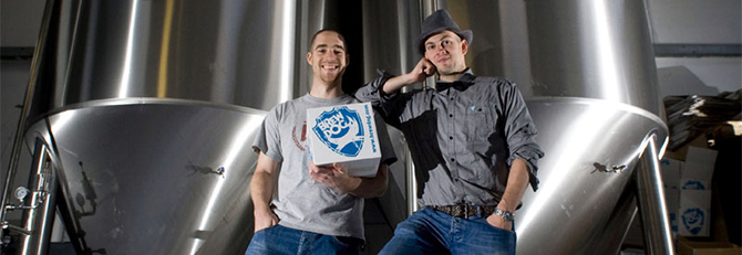 Brewdog's James Watt and Martin Dickie