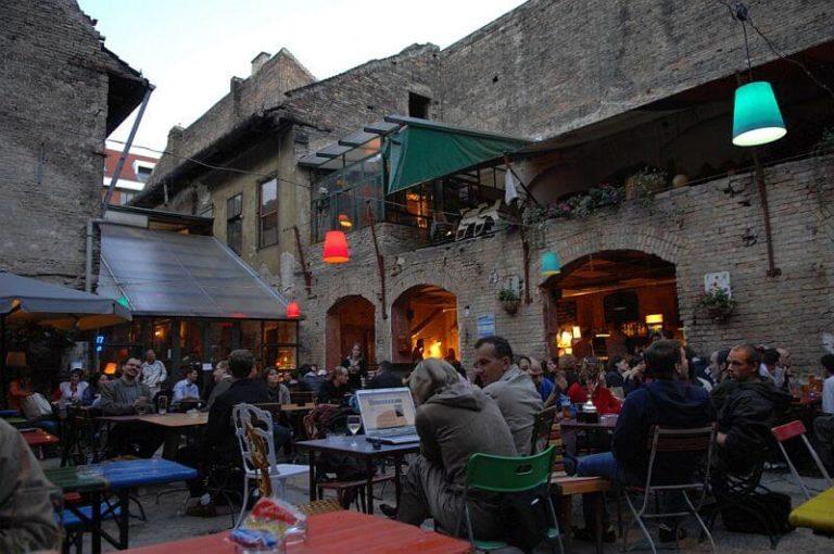 Amazing Beer Destinations- Budapest's Ruin Bars