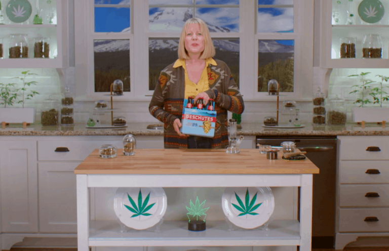 Deschutes, Deschutes Brewery Ad Campaign Targets Cannabis Consumers