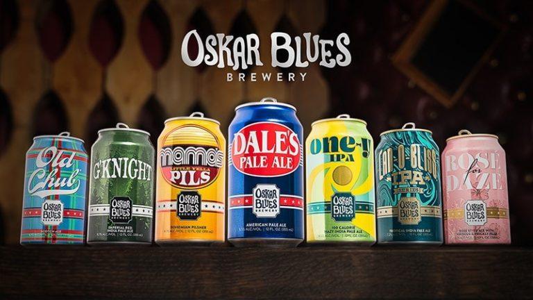 , Oskar Blues Beer Line Gets New Look And Logo