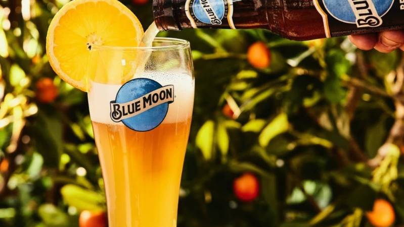 , Win Free Blue Moon Beer For A Year And An Orange Tree